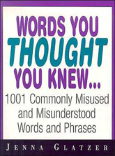 words you thought